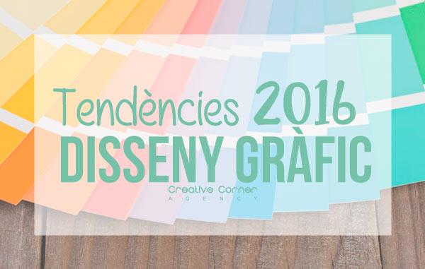 Tendències en disseny gràfic del 2016