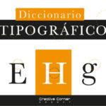 diccionario tipografico