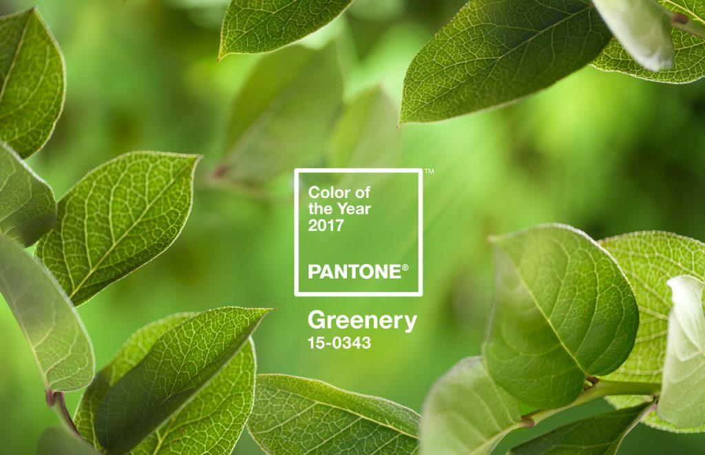 Color Pantone 2017: Verd Greenery
