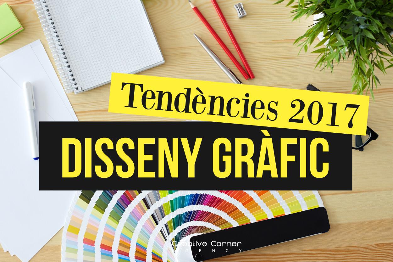Tendències en disseny gràfic 2017