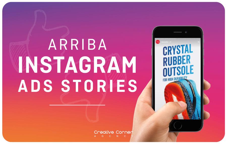 Arriba Instagram ADS STORIES