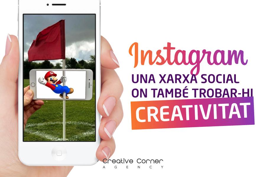 Instagram: una xarxa social on també trobar-hi creativitat