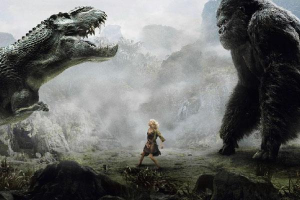 La técnica Matte Painting representada en la película King Kong