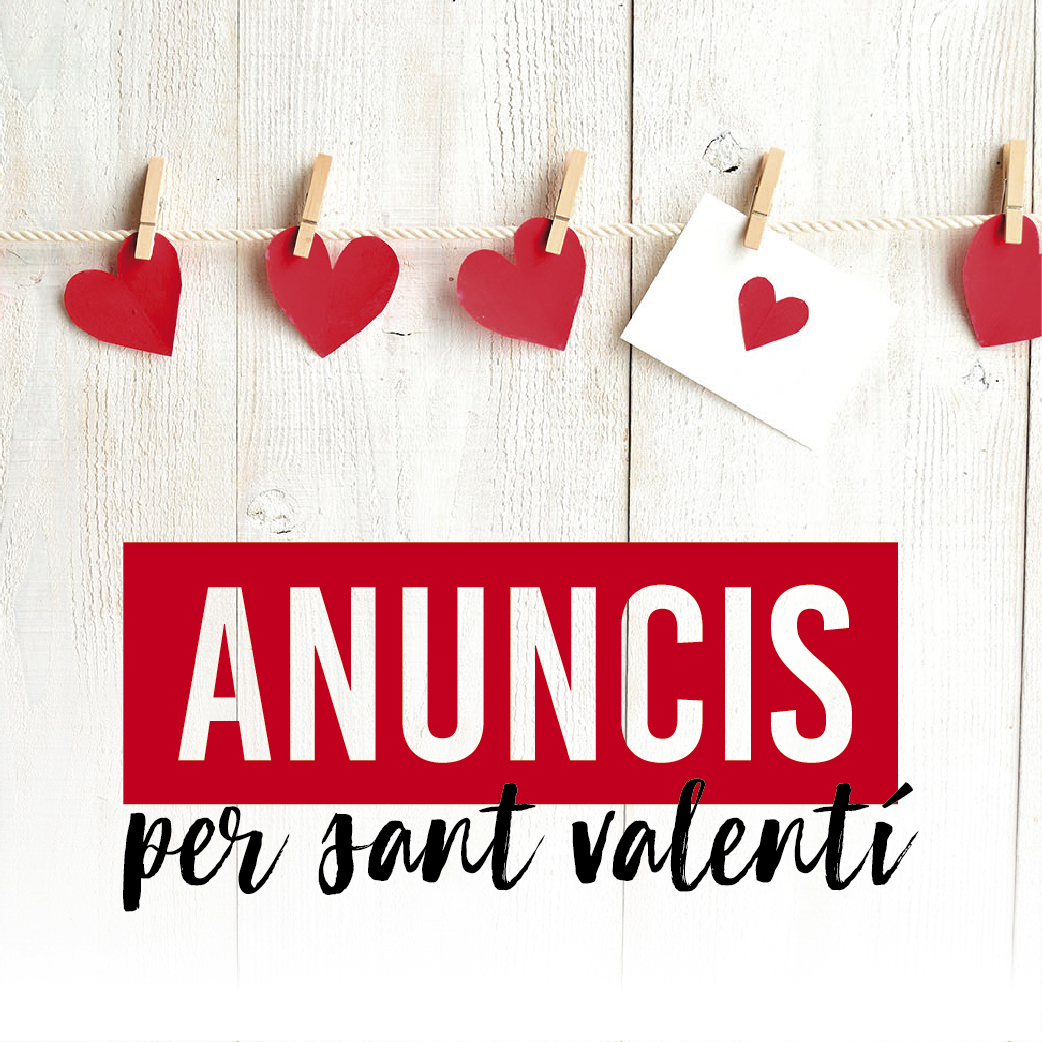 Anuncis originals per Sant Valentí