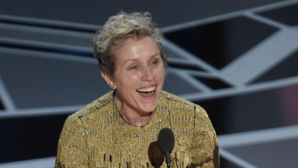 Frances McDormand, Premis Oscar 2018