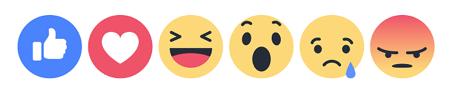 Noves reaccions de Facebook. Instagram vol eliminar els likes.
