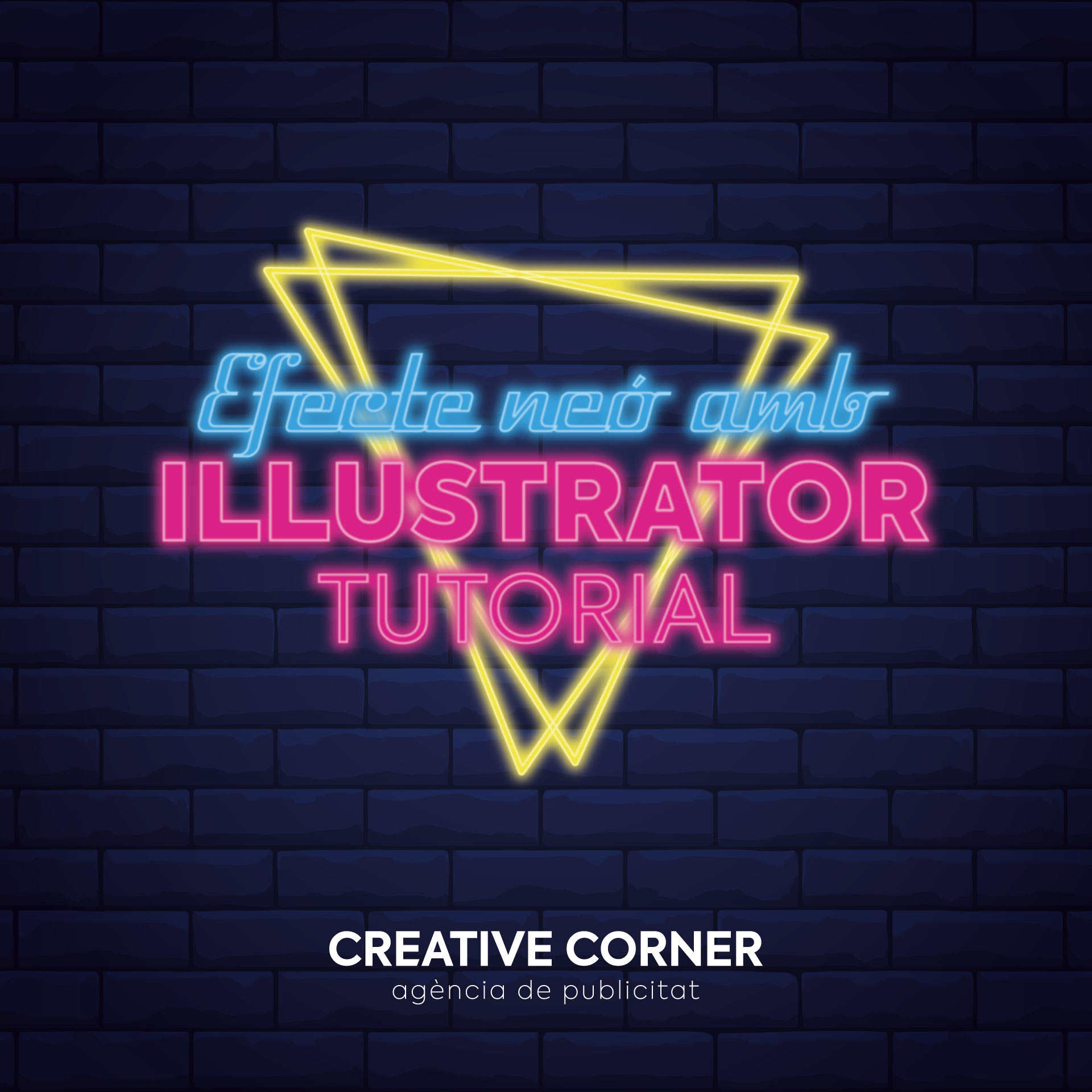 Efecte neó amb Illustrator