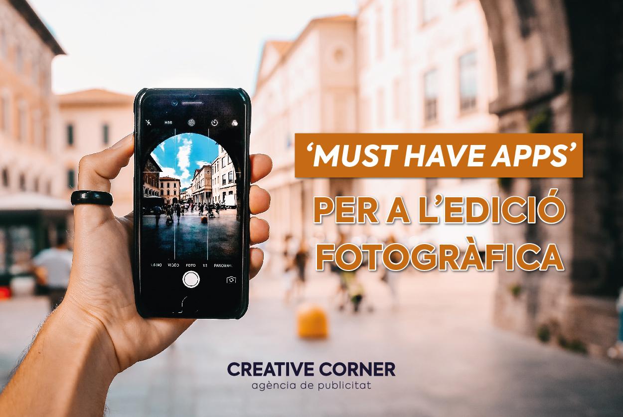 'Must have apps' per a l'edició fotogràfica