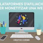 PLATAFORMES D'AFILIACIÓ PER MONETITZAR UNA WEB
