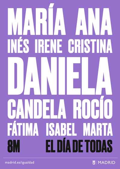 8M. Dia Internacional de la Dona